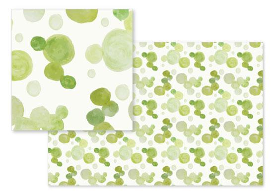 fabric - Watercolor Bubbles by Ilze Lucero