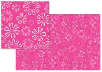 Fuchsia Vivid Pink Florals