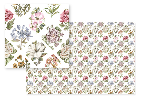 fabric - Once Upon A Floral by Cara Rosalie Olsen