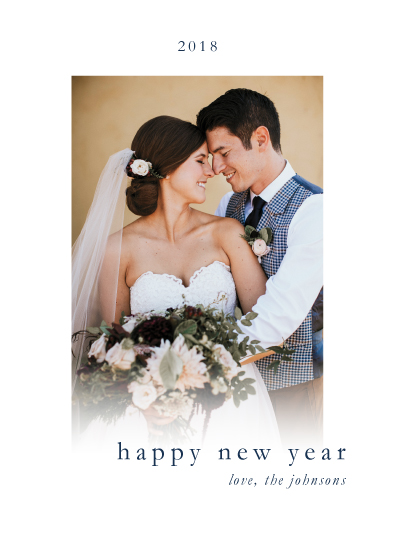 new year's cards - New Year, Same Love by Brittany Nixon