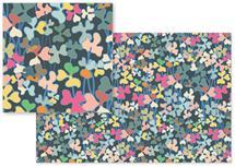Multicolored Florals by Piia Põdersalu