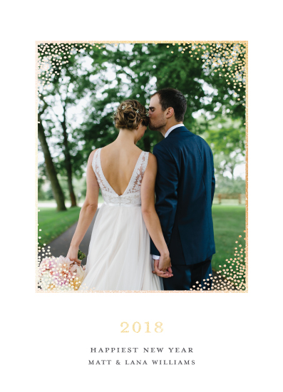 new year's cards - Timeless Frame by Paper Dahlia
