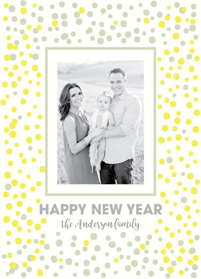 new year's cards - Dots Celebration by LouisaKay