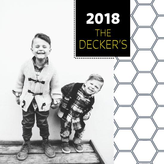 new year's cards - Hexalove by Lauren Rondou