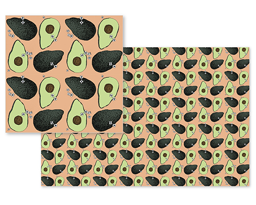 fabric - Avocados! by Jordan Dobrowski