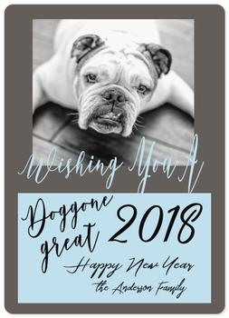 Doggone Happy New Year