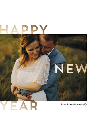 new year's cards - Sweet & Simple New Year by Naomi Scheel