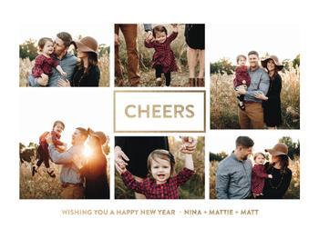 Minimal New Year Multi Photo