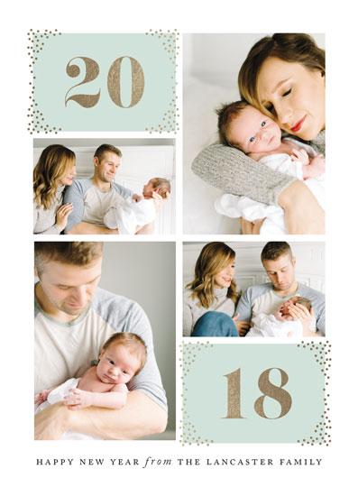 new year's cards - Sprinkled by Jennifer Postorino