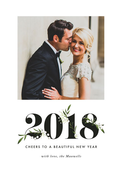 new year's cards - Adorned Year by Jennifer Postorino