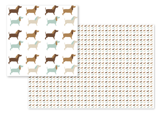 fabric - Thats What Im Dachshund Bout by Claire Womack