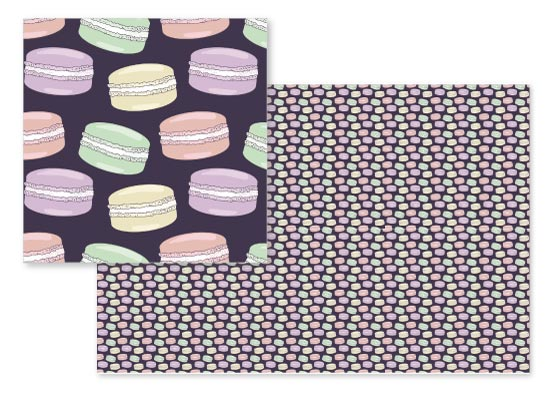 fabric - So Macaron Its Must Be MacaRight by Claire Womack