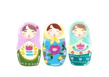Singing Matryoshka Doll... by Riley Choi