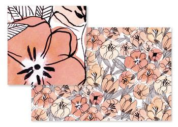 Inky Pinky Floral