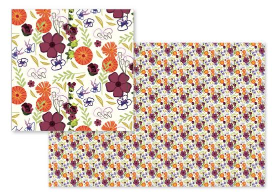 fabric - Nature Surprise by Jean Calomeni
