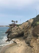 Ocean Cliff by Kendal Leffler