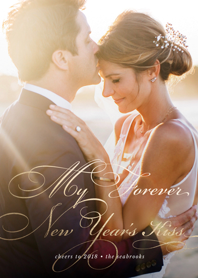 new year's cards - Forever New Year's Kiss by LaurenGaynor