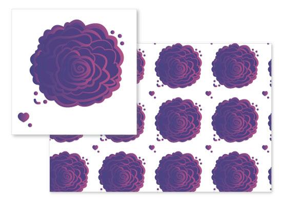 fabric - Lila Royal by jkookie