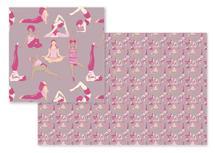 Yoga Girls by Cecilia Granata