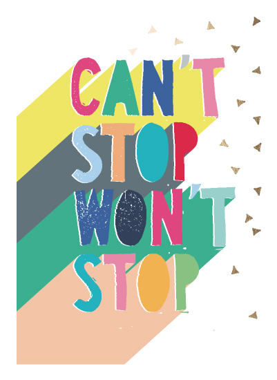 art prints - Cant Stop by Katy Clemmans
