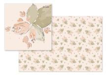 Isometric florals by Valentina Taligarova