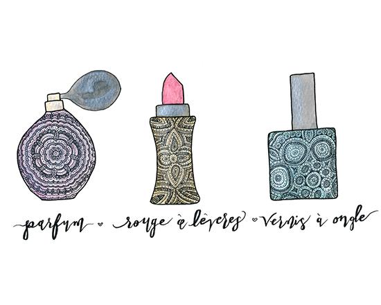 art prints - Beauty en Françias by Mary Kate Lucas