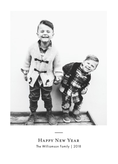 new year's cards - Classic New Years by Danielle Romo