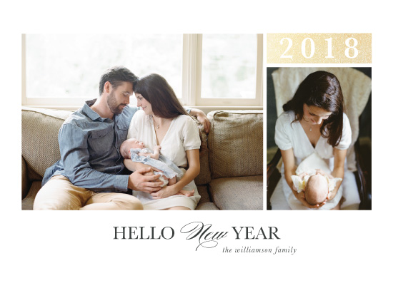 new year's cards - Hello New Year by Danielle Romo
