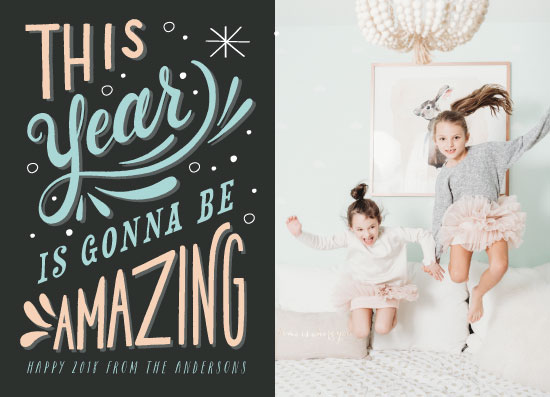 new year's cards - Amazing by Hannah Williams