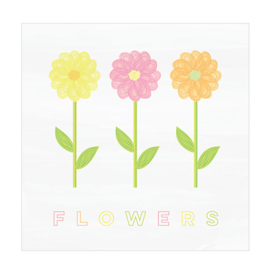 art prints - Flowers by LouisaKay