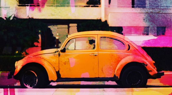 art prints - Punch Buggy by Karen Prost