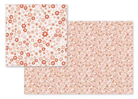 fabric - Petite Florals by Cavell Ferguson