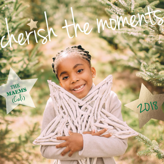 new year's cards - Cherishing the Moments by Amy Estrada