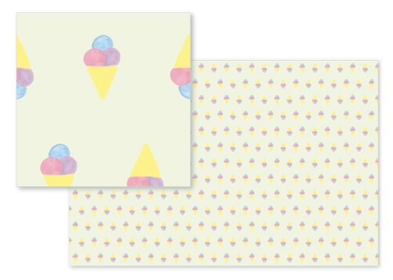 fabric - I Scream For Ice Cream by Designs by Aili