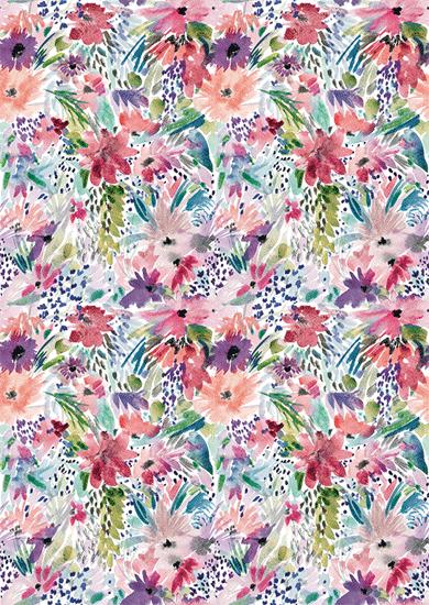 art prints - Flowery by Albina Bratcheva