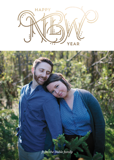 new year's cards - New Lettering by Naomi Scheel