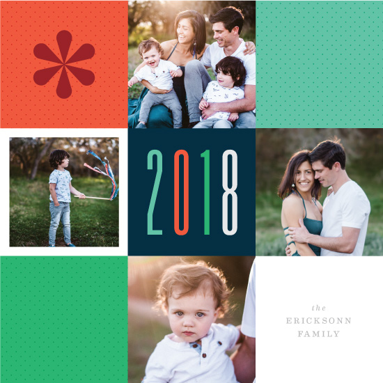new year's cards - A Mod 2018 by LaurenGaynor