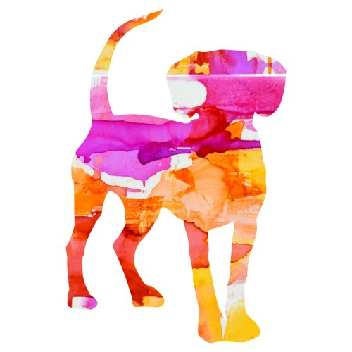 art prints - Fiesta Pup Pink by Marla Beyer