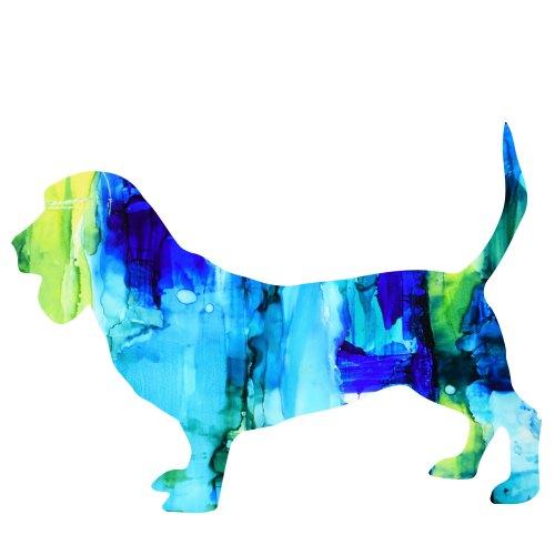 art prints - Fiesta Pup Blue by Marla Beyer
