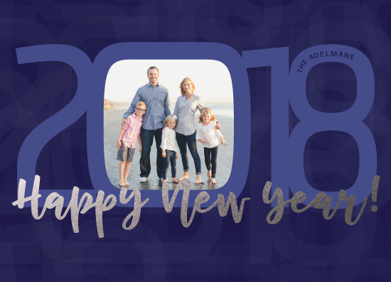 new year's cards - Rounded Box New Year's by Paul Denhoed