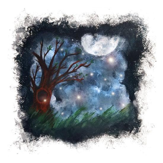 art prints - Fireflies by Aubrey Troutman