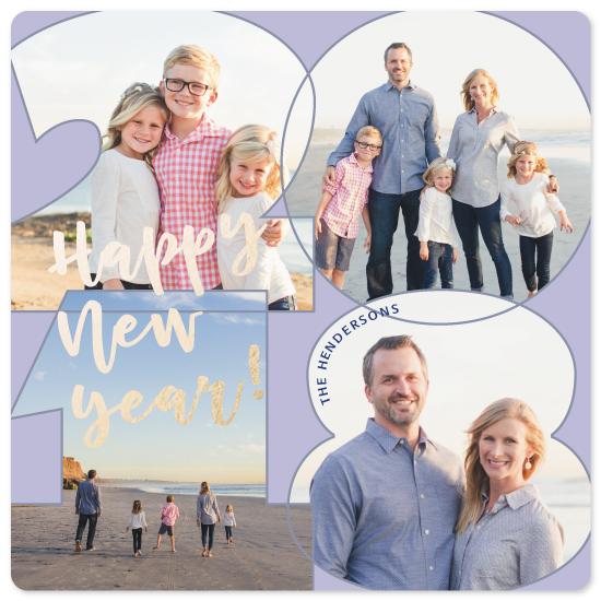 new year's cards - New Year Frames '18 by Paul Denhoed