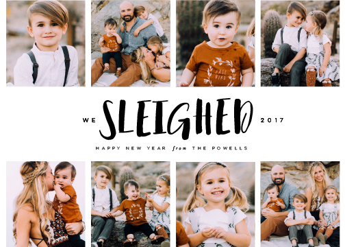 new year's cards - Sleighed by Lori Wemple