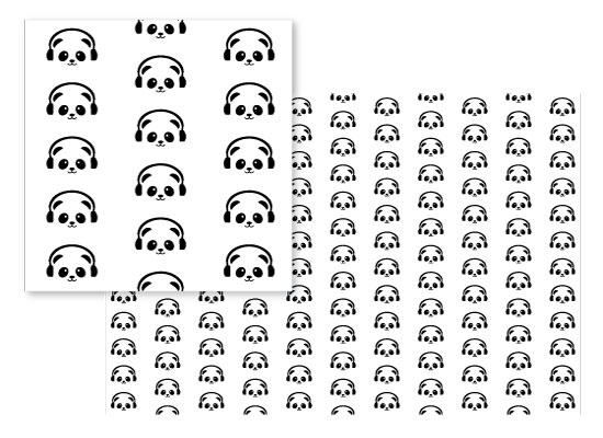 fabric - Panda by Jair Bontilao