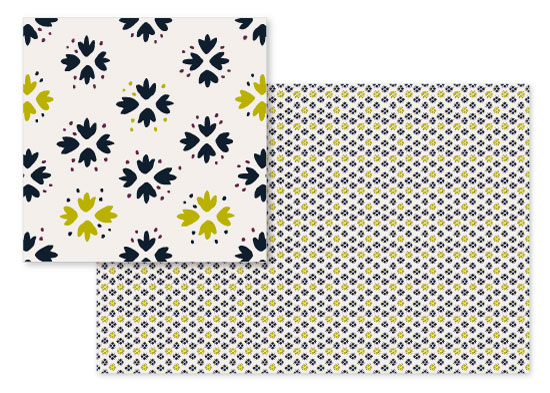 fabric - Petite Foliage by Maria Koontz