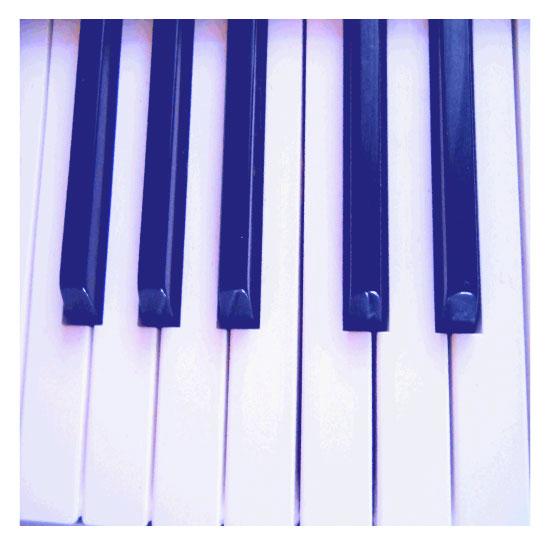 art prints - Piano keys by Lesia