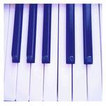 Piano keys by Lesia