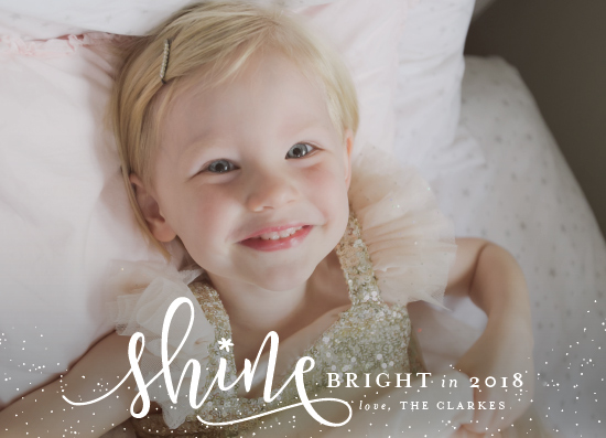 new year's cards - Shine Bright by Shirley Lin Schneider