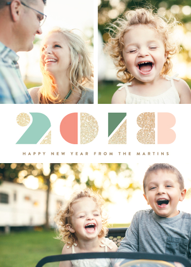 new year's cards - Dazzle by Kristie Kern