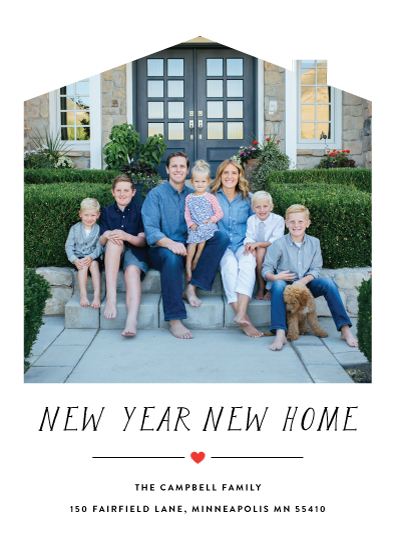new year's cards - Heart Home by Jennifer Lew